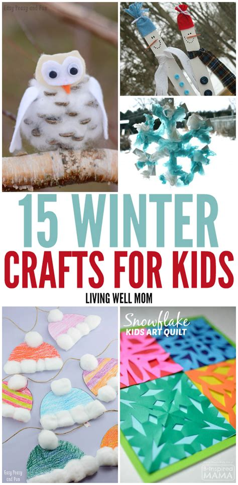 prop up some art 15 easy christmas decorations real simple 15 winter crafts for kids living well mom
