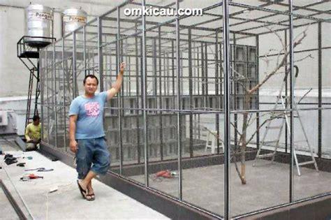 Kandang Kucing Cilacap jaya alumunium rungkan 60 set kandang murai di