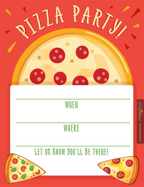 Pizza Invitation Template pizza invitations theruntime