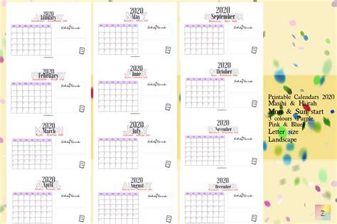 printable calendars  vol