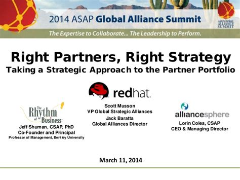 Start Mba Asap by 2014 Asap Global Alliance Summit Presentation