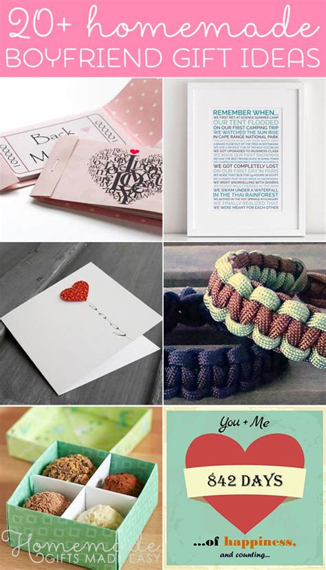 Creative Handmade Birthday Gifts For Boyfriend - birthday ideas for boyfriend image inspiration
