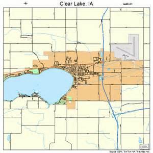 clear lake iowa map 1914025