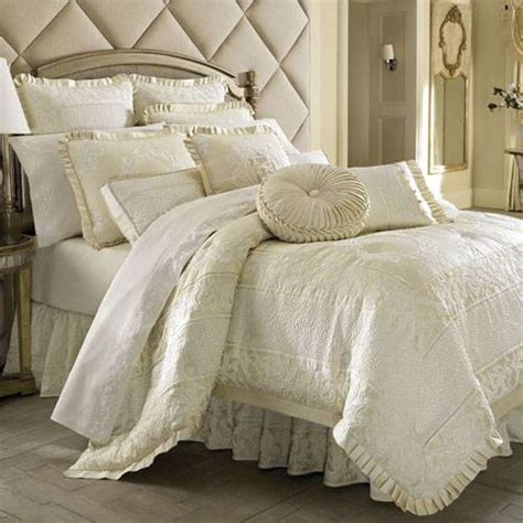 Ivory Comforter by Ivory Bedding Home