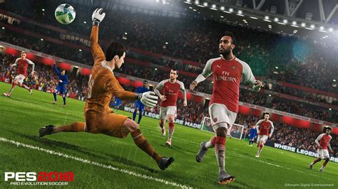arsenal pes 2018 pes 2018 data pack 3 0 out now with updated likenesses