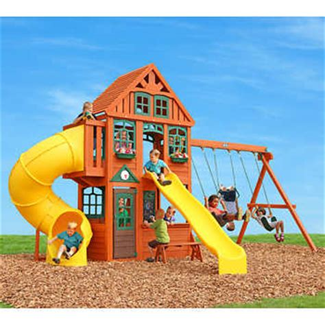cedar summit mountain lodge playset do it yourself