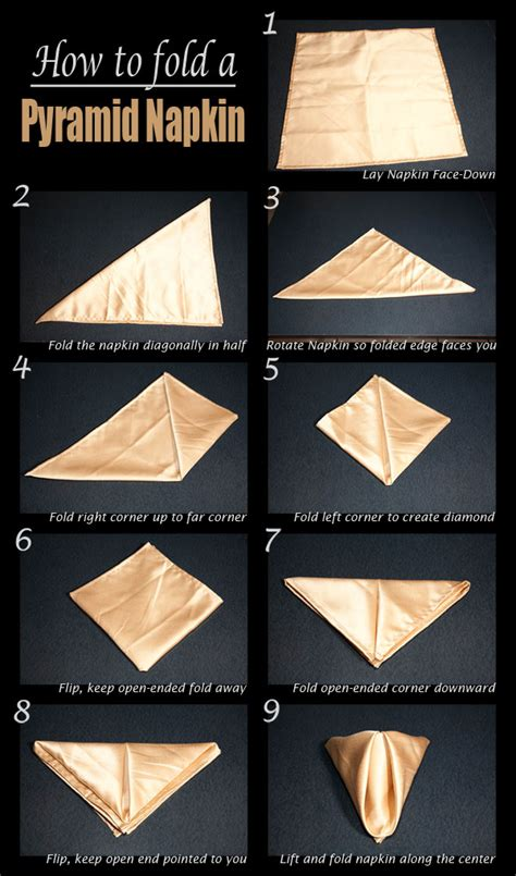 How To Make Napkin Origami - 25 napkin folding techniques that will transform your