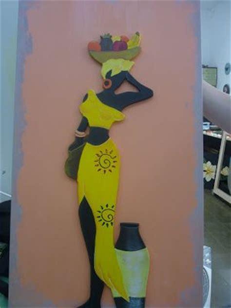 imagenes negras africanas para cuadros negras africanas en madera con disenos de frutas en la