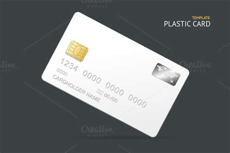 plastic card template business card set credit card free 187 designtube