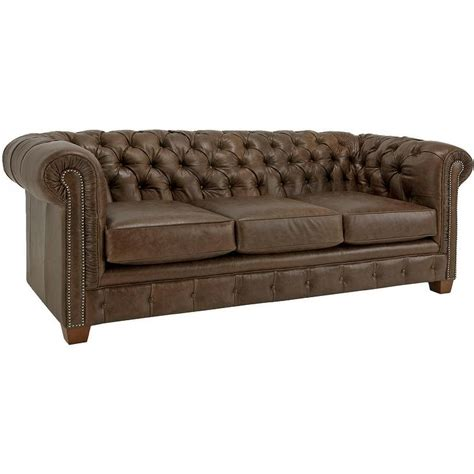 pottery barn chesterfield leather sofa chesterfield leather sofa pottery barn