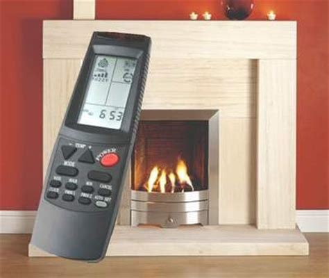 gas fireplace logs remote controlled fireplaces