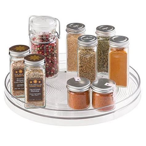 lazy susan organizer for kitchen cabinets mdesign lazy susan turntable spice organizer for kitchen