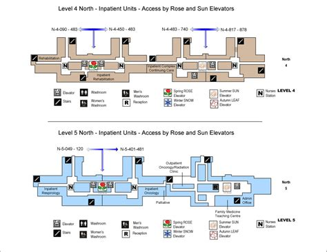 How To Read Dimensions On A Floor Plan by Brampton Civic Hospital