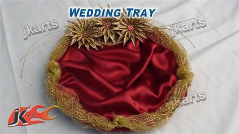DIY How to Make Wedding Tray   JK Arts 207   YouTube
