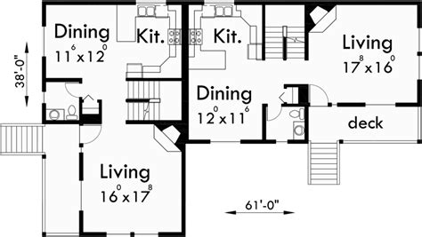 Corner Lot Duplex House Plans 6 Bedroom Duplex House Plans 6 Bedroom Duplex House Plans