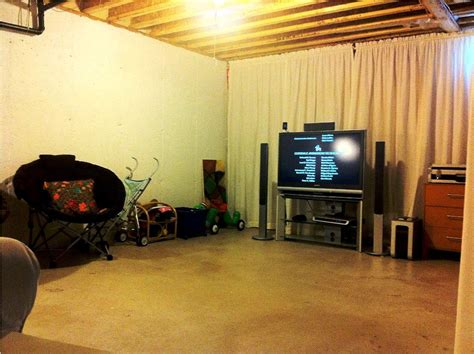 Unfinished Basement Ideas On A Budget Basement Ideas On A Budget How To Finish Unfinished Basement Ideas Home Interior Design