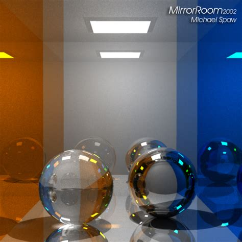 spherical mirror room sphere archive year 1
