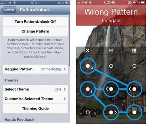 pattern unlock cydia install android like lock screen pattern security on ios