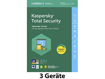 Kaspersky Security 2018 3 User Compatible For Mac kaspersky pc sicherheits softwares total security 2018 produkt key f 252 r 3 ger 228 te pc mac