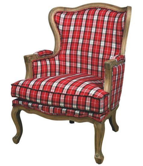 plaid fauteuil 1000 ideas about tartan chair on tartan decor plaid and plaid decor