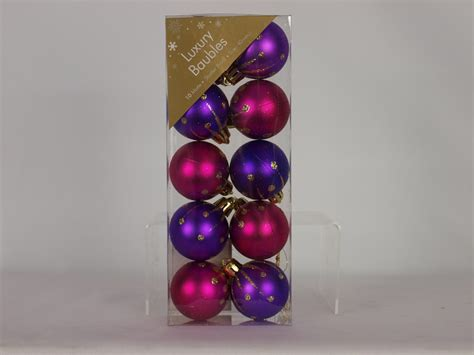 pink baubles next baubles decorations 4 you