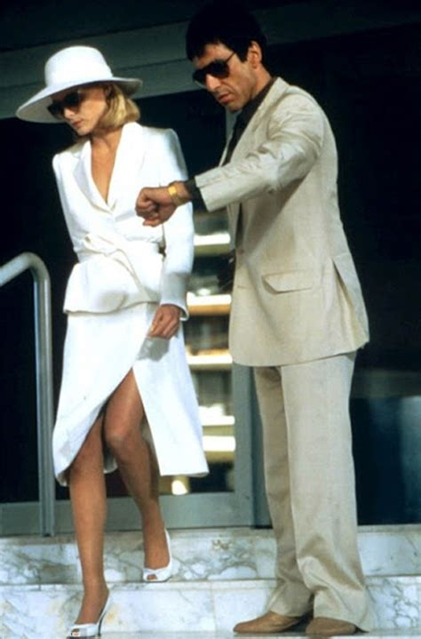 You Asked We Found And Michelles Fashion Faceoff Dress by Scar Al Pacino Pfeiffer Tomorrow Started