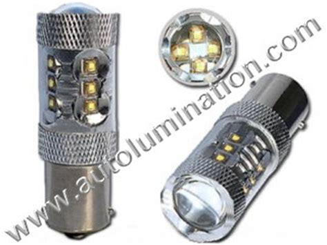 Lu Sorot 80 Watt s8 brake turn signal back up led bulbs ls
