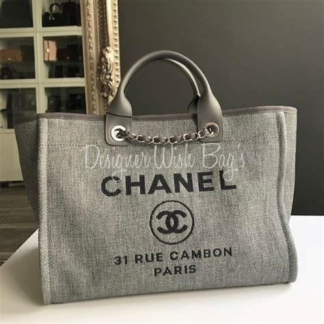 Chanel Deauville 2 chanel deauville medium tote new