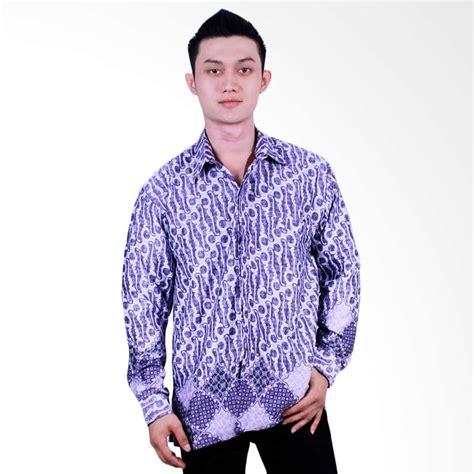 Kemeja Batik Furing Putri Ayu Kpd12 jual batik putri ayu lengan panjang kpj14 kemeja batik ungu harga kualitas