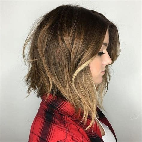 layered angled bob cut middle age 60 inspiring long bob hairstyles and lob haircuts 2018
