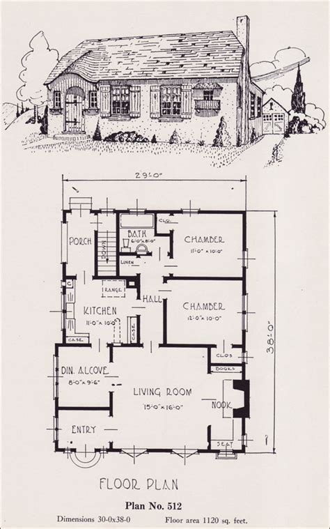 eplans country house plan storybook cottage 4578