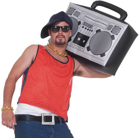 80s Accessories For Boys by 1980 S Hip Hop Blaster Boom Box Costume