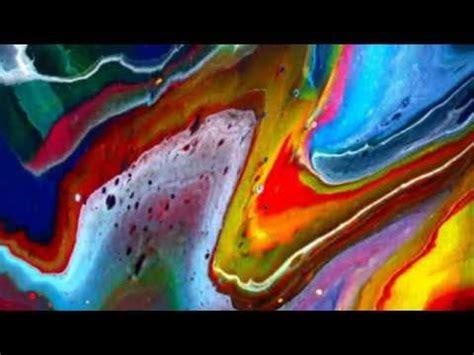 acrylic paint technique fluid acrylic painting techniques toiles