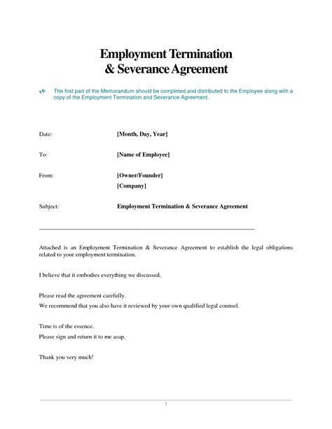 Contract Of Employment Termination Letter other template category page 1157 sawyoo