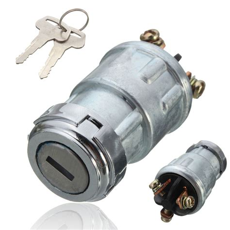 Ignition Switch universal replacement ignition switch lock cylinder with 2 for car auto new ebay