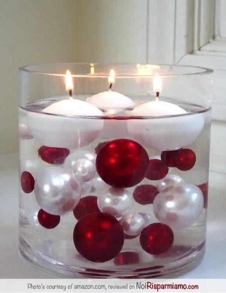 candele per natale fai da te candele centrotavola per natale paperblog