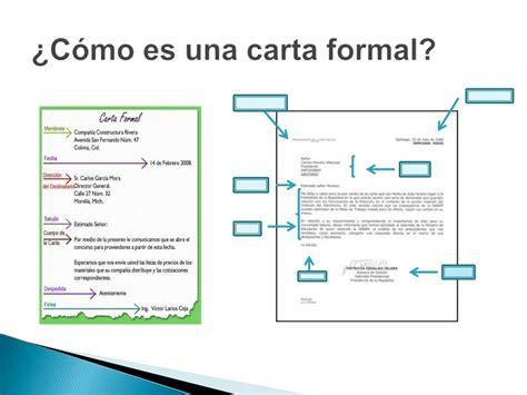 La Carta Formal Pdf la carta formal