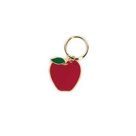 apple keychain petite gavel keychain gift idea for judge