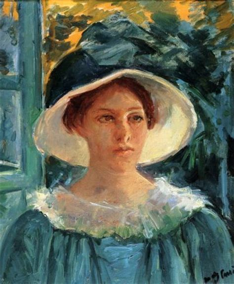 biography of mary cassatt artist mary cassatt self portrait american painter among my