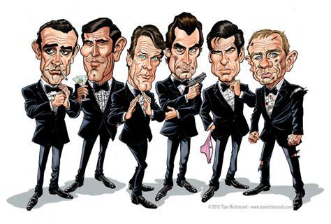 best bonds bond caricature bondmovies