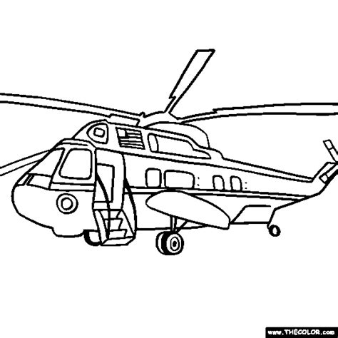 coloring page of helicopter fly up in sky 10 helicopter coloring pages print color craft