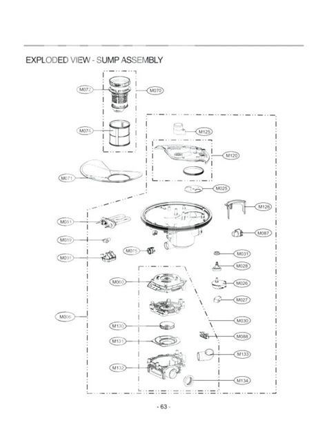 frigidaire gallery dishwasher parts diagram frigidaire professional series dishwasher parts diagram