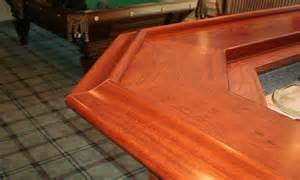 Cherry Bar Top by Cherry Bar Top And Chicago Bar Rail Designed By