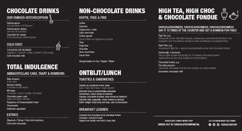 Menu Coffee Toffee Sukabumi vijftig tinten chocolademelk we krijgen een chocolate company indebuurt zwolle