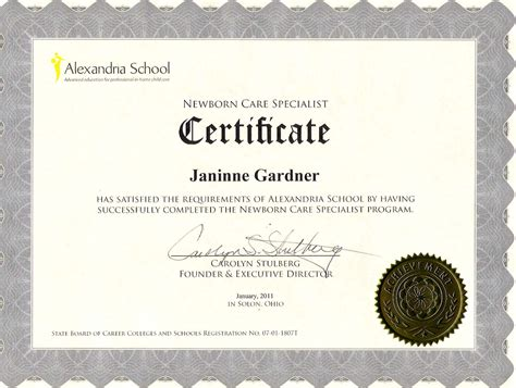 continuing education certificate template 25 images of cna continuing education certificate template