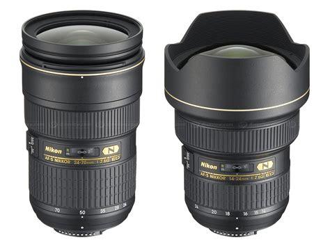 nikon professional price nikon af s 14 24 mm and 24 70 mm f2 8g ed digital
