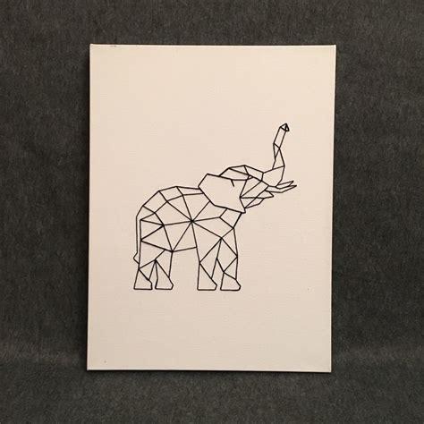 Animal Print Home Decor best 25 geometric elephant ideas on pinterest geometric