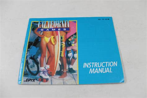 Manual Californias Nes Nintendo Classic
