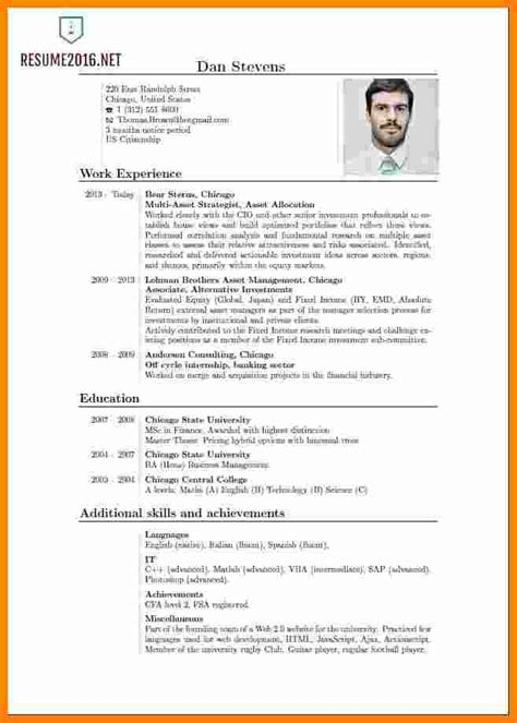 9 Curriculum Vitae English Pdf Theorynpractice Resume Template 2016