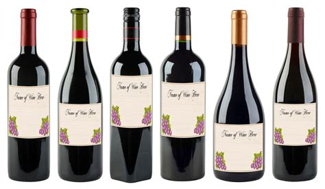 wine bottle labels template bamboodownunder com